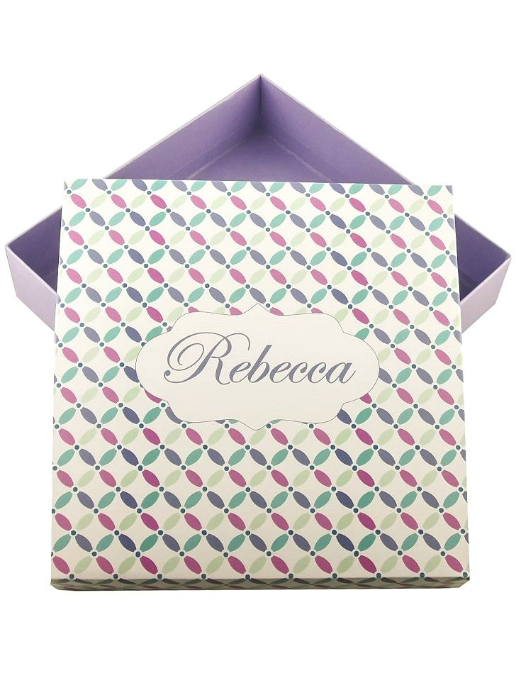 Don't miss our Maid of Honor gift box personalized Bridesmaid boxes in purple and much more! (Bridesmaid cards, tags, etc.)