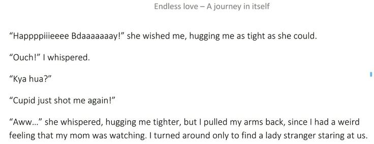 Cupid just shot me again! Read it here- http://goo.gl/XDPU5W