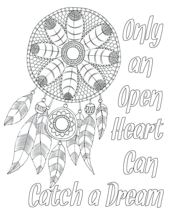 Dreamcatcher tattoo designs - Tattoos Coloring Pages for Adults ... | 919x736