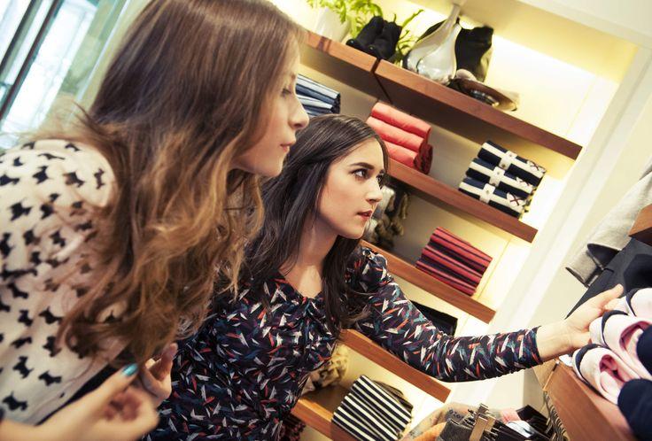 A Fashion donor csapata a GANT üzletéből válogatta össze az elegáns ruhákat.