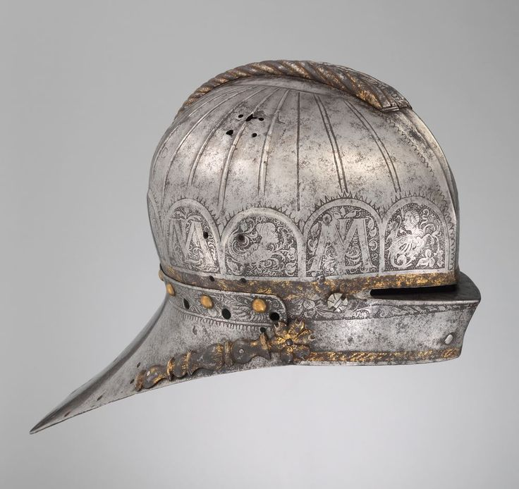 Tournament Sallet Made for Louis II (1506–1526), King of Hungary and Bohemia. Armorer: Attributed to Kolman Helmschmid (German, Augsburg, 1471–1532). Date: ca. 1525. Geography: Augsburg.   © 2000–2014 The Metropolitan Museum of Art.