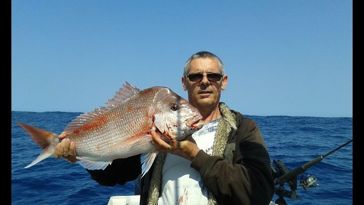 Fishing for Pink Snapper at Direction Bank Perth Western Australia