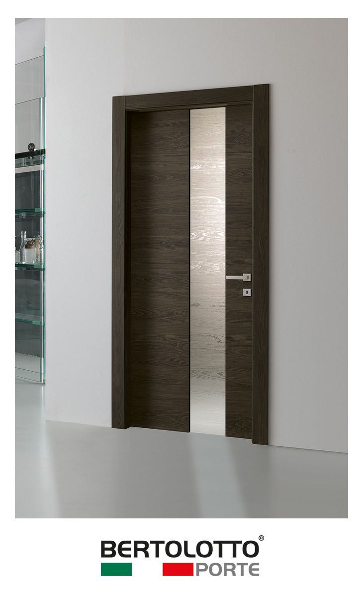 Bertolotto's Materik basic door collection offers a very good value for money: this economical range is fitted with high-level components: concealed hinges, magnetic locks, frames and architraves in water-repellent materials. Door finishing is scratch resistant, synthetic and reproduces natural wood colour, grain and pattern; you can choose between wood and fashionable lacquer colours, to match with your taste and the most glamorous styles.