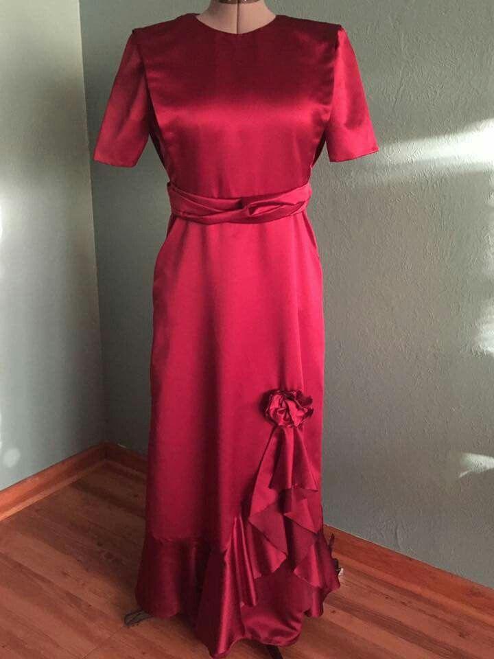 "Modest Valentines Dress ~ ""Old Fashion Vintage Farmer's Wife"" ~"