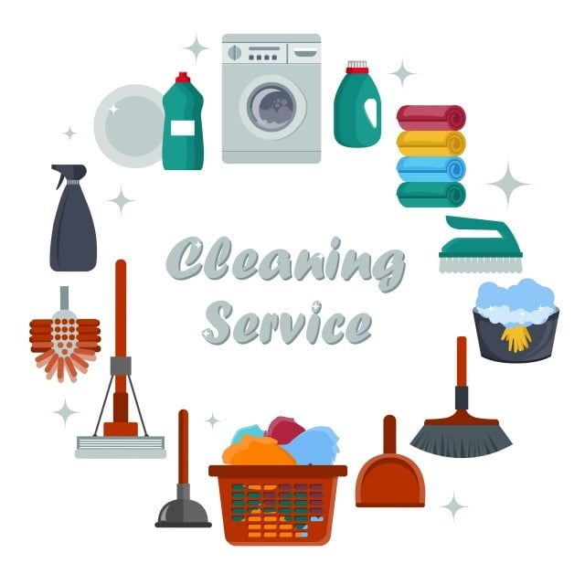 Equipment Cleaning Service Concept Poster Template For Cleaning Services Abstract Background Banner Png And Vector With Transparent Background For Free Down Poster Template Cleaning Cleaning Service Logo