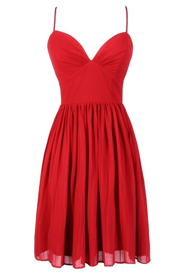 78  ideas about Cute Red Dresses on Pinterest  Wine dress Grad ...
