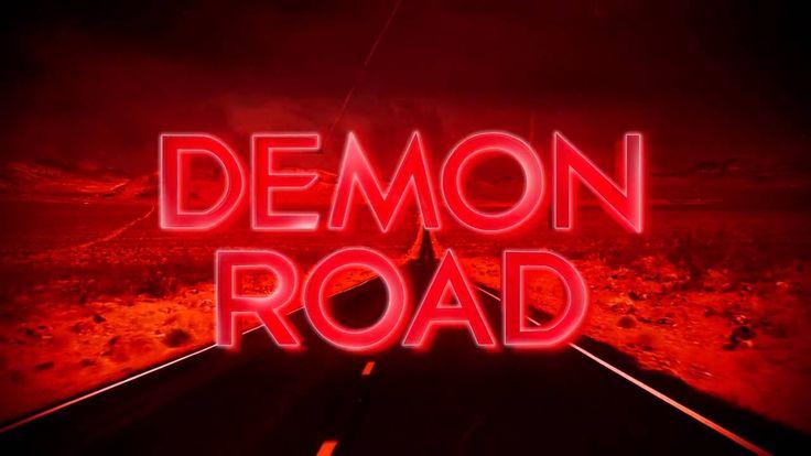 Derek Landy's 'Demon Road' book trailer