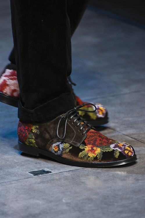 Dolce & Gabbana Fall/Winter Men's Shoes Collection 2013