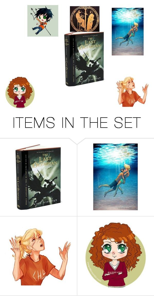 """""""Day #1 Favorite PJO Book: The Last Olympian"""" by thaliaredwood ❤ liked on Polyvore featuring art"""