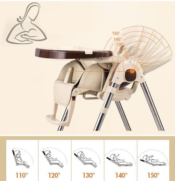 Portable Baby Feeding Highchair for Kids Feeding Table