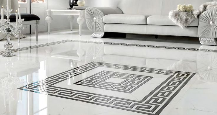 Museum Fidias 18x18 Polished Porcelain (white) #peronda