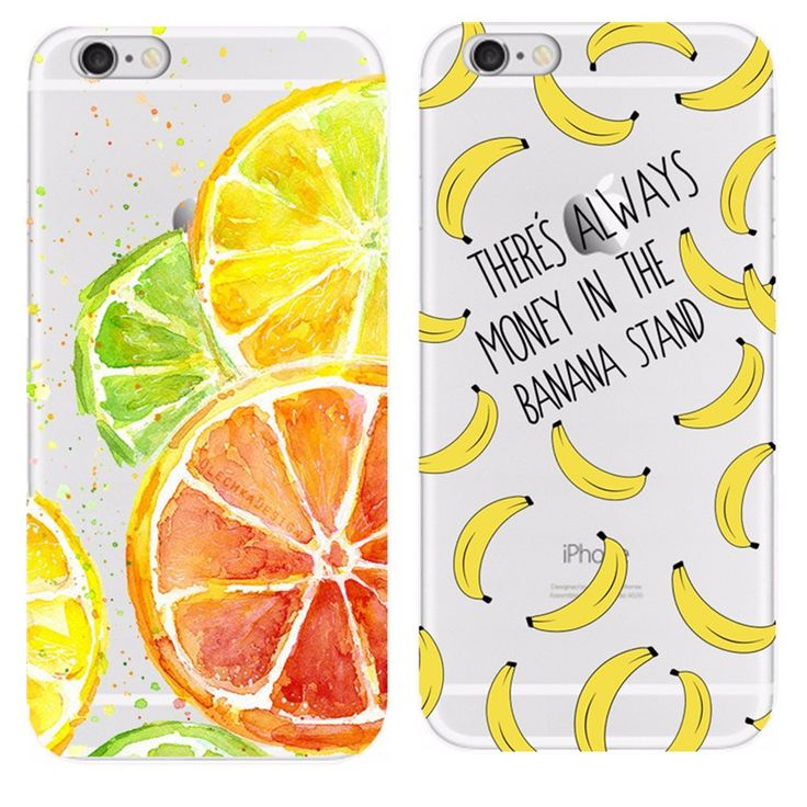 Banana Shell For Iphone 4 4S 5 5S 6 6S 7 Cases Soft TPU Cases For Apple Iphone 4 4S 5 5S 6 6S 7 Phone Bags Cover Thin Skin