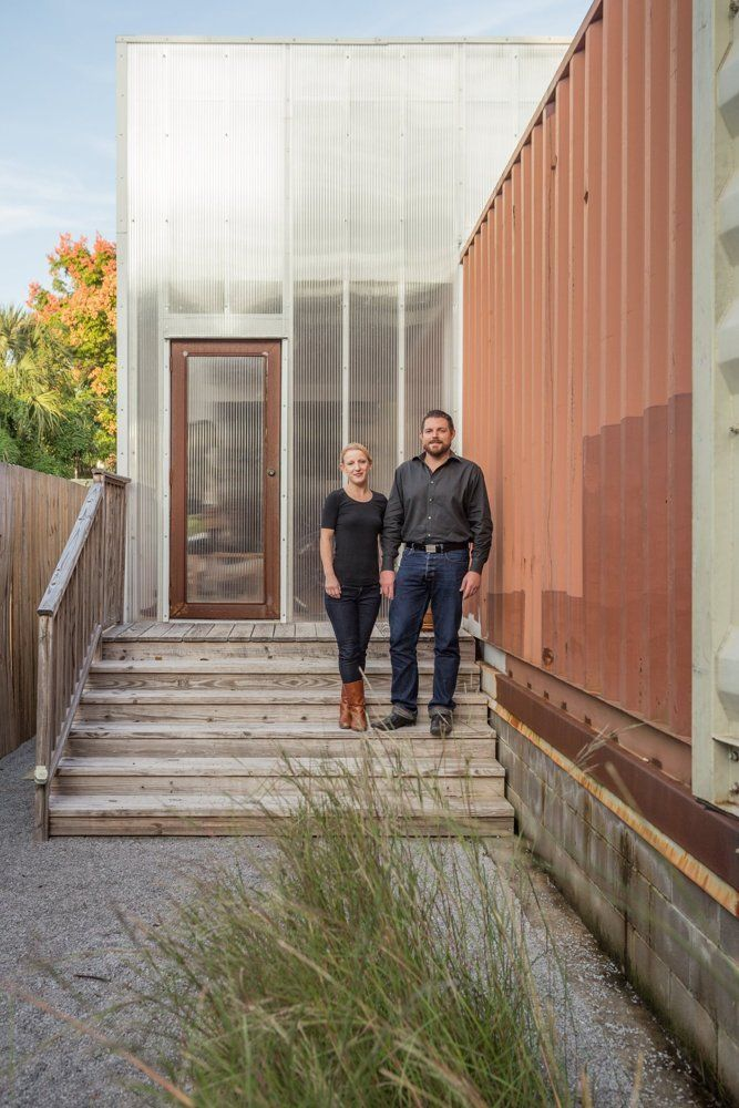 Seth Amp Elisabeth S Shipping Container Home In New Orleans House Tours Therapy And House