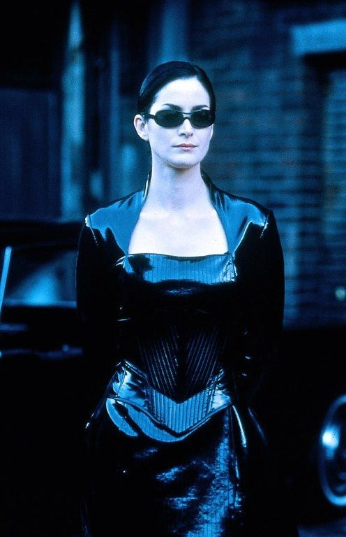 Matrix Carrie Ann Moss as Trinity