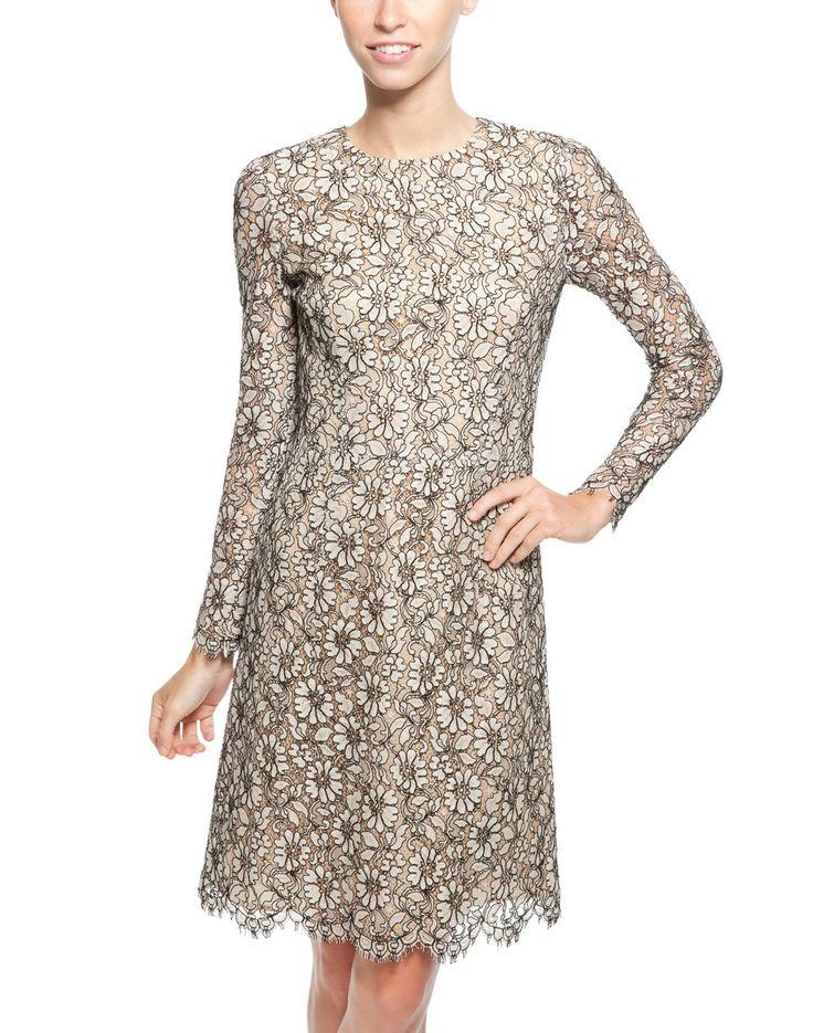 Sandrine Stretch Cotton Lace Dress