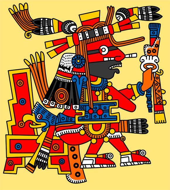 Pic 11: Xiuhtecuhtli, god of fire, creator of all life
