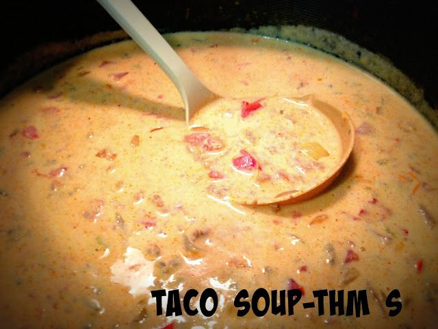 Family Farmhouse: THM Taco Soup