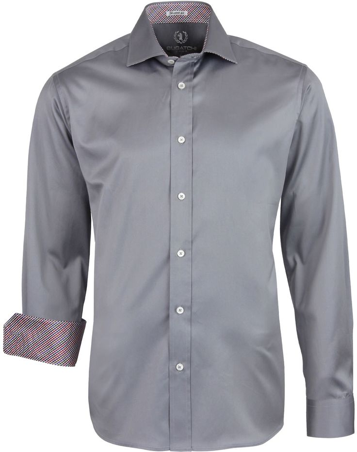 Bugatchi PS4602L51 Classic Sport Shirt - Grooms and groomsmen's shirts