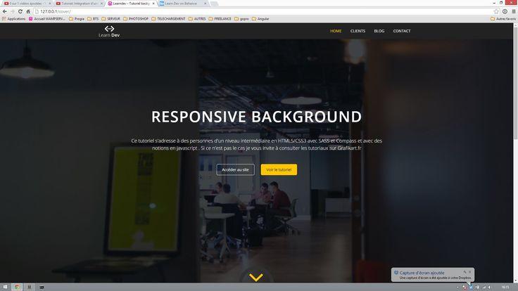 Dans ce tutoriel nous allons apprendre à, mettre en place un background responsive. Ce tutoriel s'adresse à des personnes d'un niveau intermédiaire en HTML5/...