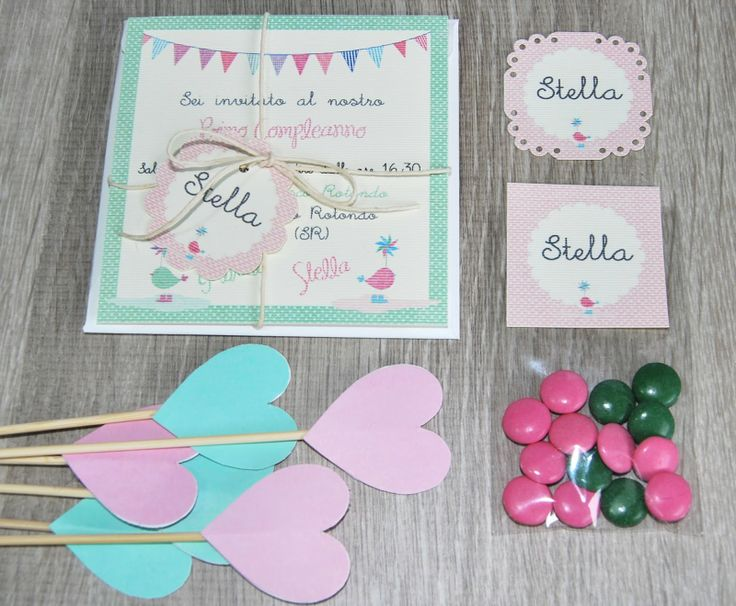 Lovely things: Compleanno in rosa e verde