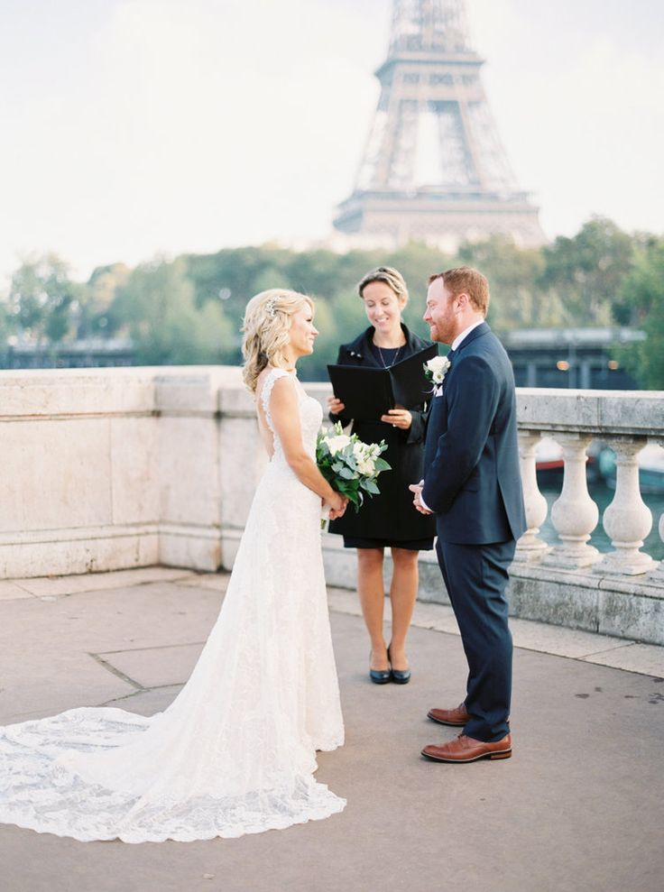 © Katie Nicolle Photography Alex & Annette | Paris Elopement