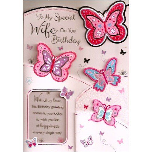 7 best Wife Birthday cards images – Happy Birthday to My Wife Greeting Cards
