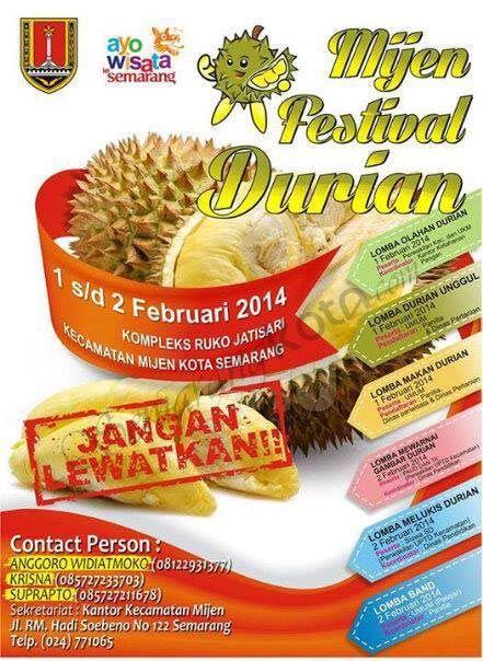 Mijen Festival Durian | #Semarang Kota