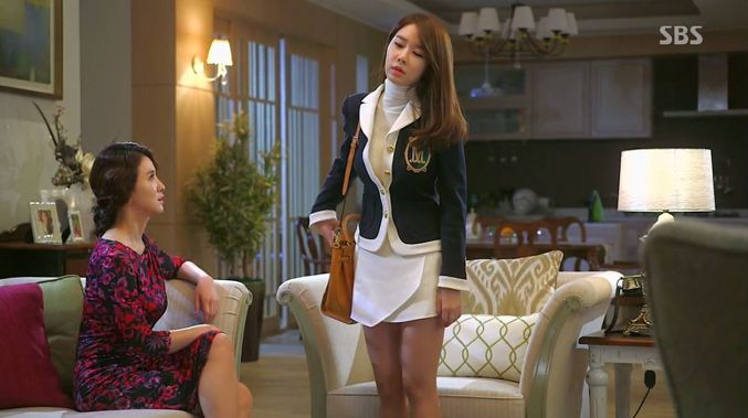 Se Mi's outfit here is amazing!  My Love From Another Star Fashion Review