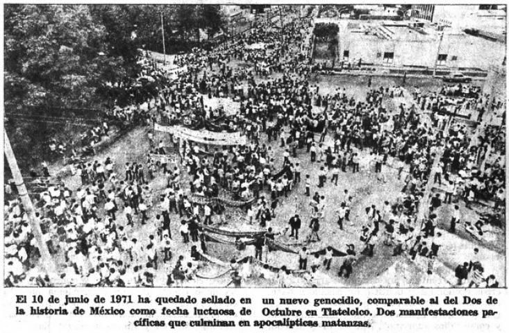 Halconazo 10 junio 1971