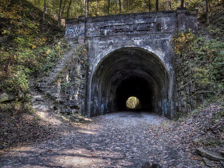 Travel | Ohio | Haunted Places | Tunnel | Haunted Ohio | Bucket List