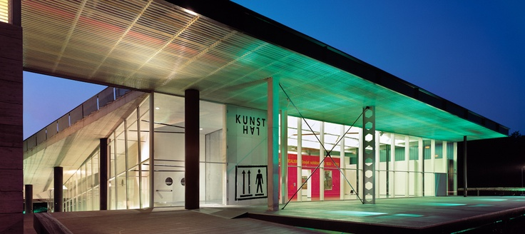 Kunsthal (museum) - Design by Rem Koolhaas, OMA (Rotterdam - The Netherlands)