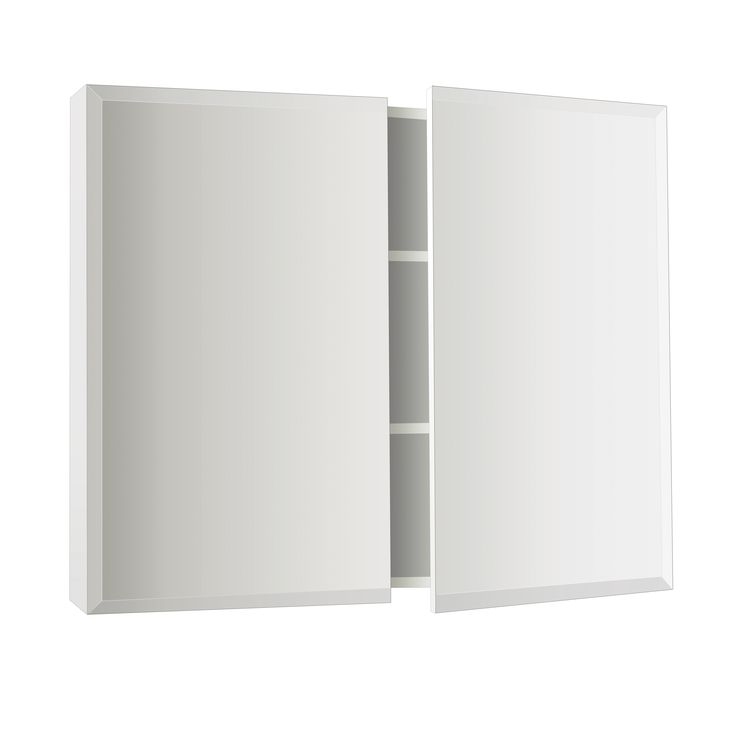 Osca Bevelled Edge Mirrored Cabinet 600mm