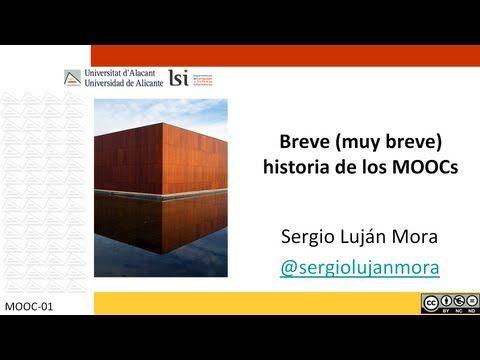 Introducción a los MOOCs #educacion #universidadalicante #mooc