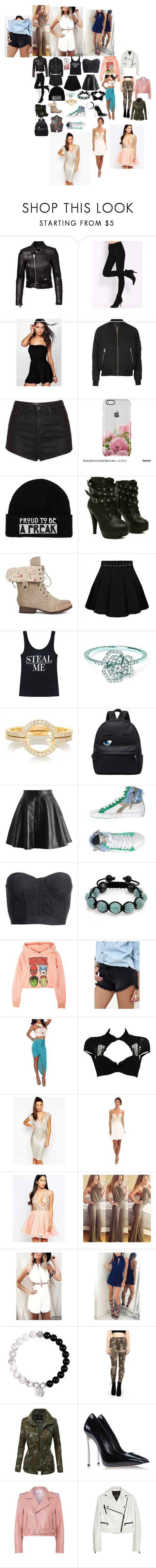 """my wardrobe 15"" by nikoleta-nicky-malik ❤ liked on Polyvore featuring Yves Saint Laurent, Boohoo, Topshop, Hot Topic, AS29, Ileana Makri, Chicwish, Diadora, Reiss and Bling Jewelry"