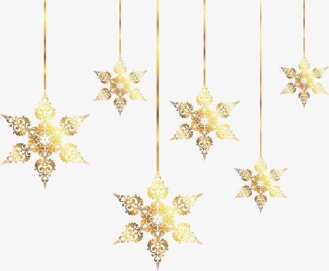 Golden Snowflake Holiday Ornaments Golden Correa Adornos De Copo De Nieve Png Y Psd Para Descargar Gratis Pngtree Snowflake Wallpaper Snowflakes Holiday Ornaments