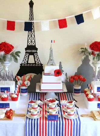 An American in Paris theme