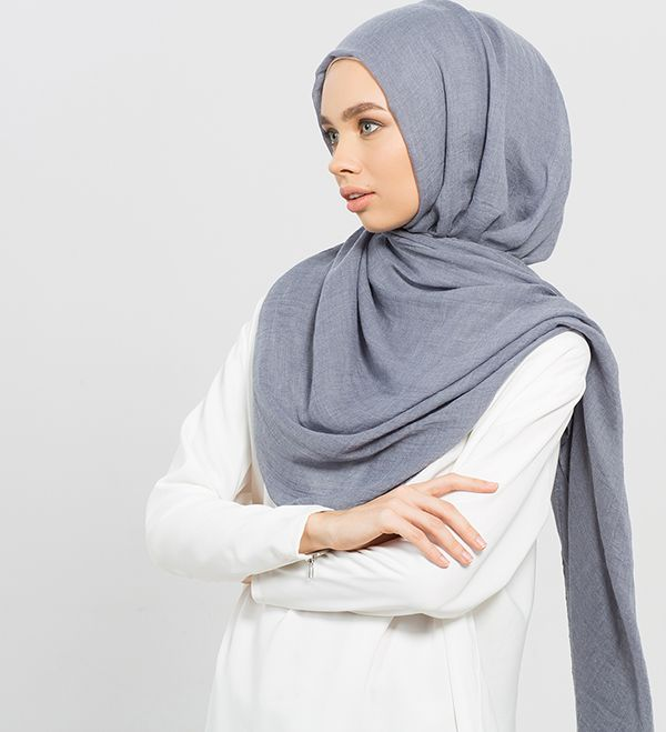 Denim Modal Hijab - £12.90 : Inayah, Islamic Clothing & Fashion, Abayas, Jilbabs, Hijabs, Jalabiyas & Hijab Pins
