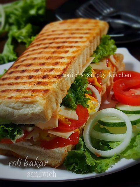 roti bakar sandwich