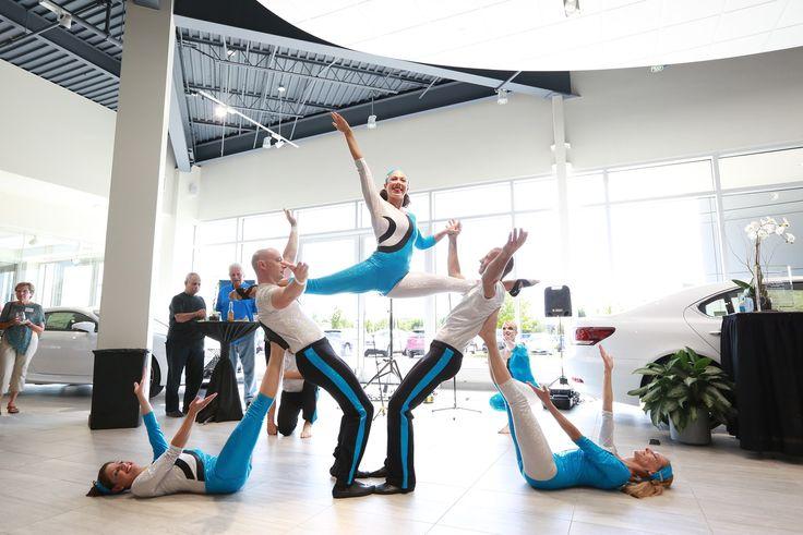 FEAT Acrobatics 5- Person Group Acrobalance corporate event