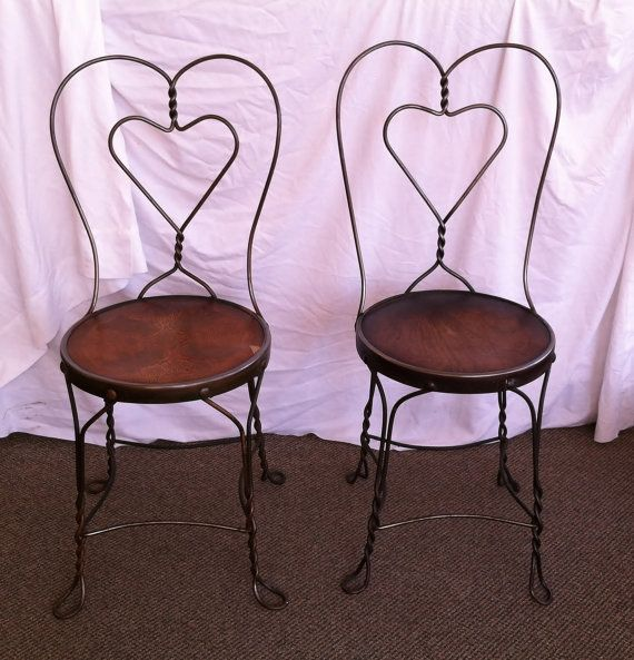Old fashioned ice cream parlor furniture 85