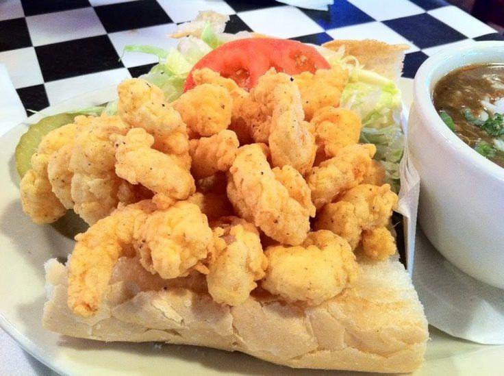 Acme Oyster House - New Orleans, LA | Shrimp Po Boy Sandwich