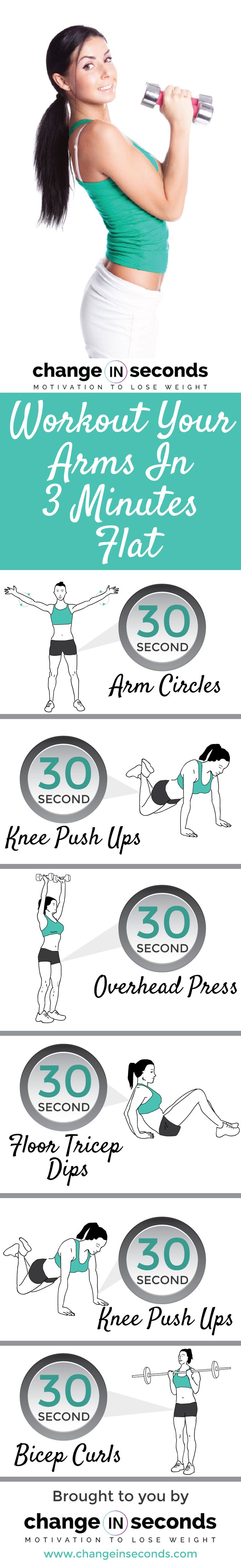 Workout Your Arms In 3 Minutes Flat (Download PDF)