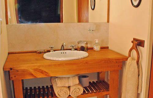 baños con antebaño rustico - Buscar con Google
