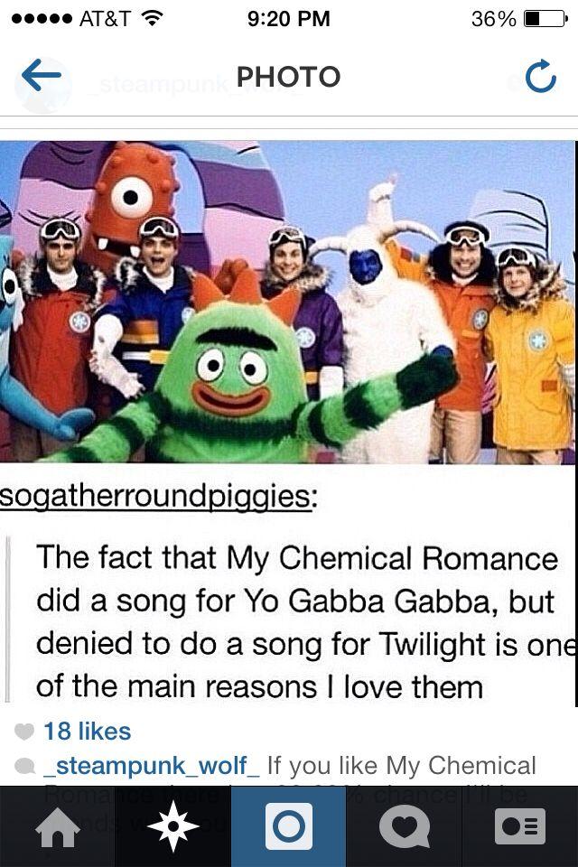 My chemical romance yo GABA GABA