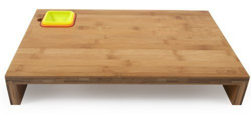 Core Bamboo Prep Station with Measurement Bowls, Strawberry/Mandarin/Banana/Lime, Large by Core Bamboo. $34.22. Lazer-etched coversion chart on teach board. Bowls stack neatly together and in the board for easy storage. Durable for any kitchen prep, delicate on knife blades. Silicone bowls sit flush to the board and come in 1/4 c, 1/3 c, 1/2 c and 1 c sizes. Large bamboo prep station with four measuring boards; 1/4 c, 1/3 c, 1/2 c and 1 c. From the Manufacturer                D...