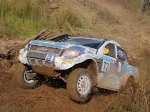 Ford 1-2 in tough Toyota Dealer 450, Mooi River, KwaZulu-Natal. Stand-in Ford Racing driver Manfred Schroder and veteran navigator Japie Badenhorst kept the momentum going and were never seriously challenged.