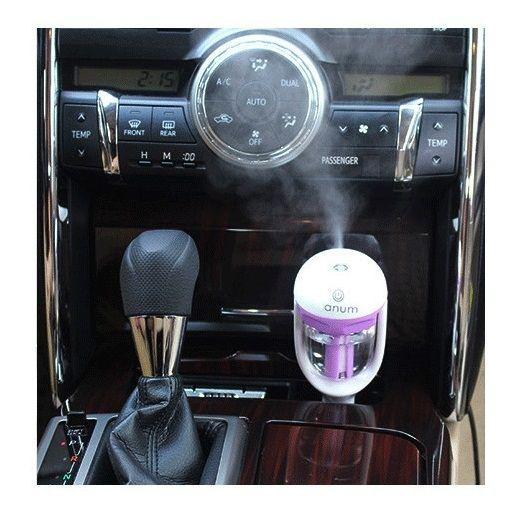 New Car Steam Humidifier Air Purifier Car air Humidifier Diffuser Aromatherapy Mist Maker Car Fresher 4color