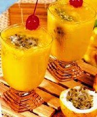 Resep Minuman Buah - Juice Yoghurt Mangga Markisa