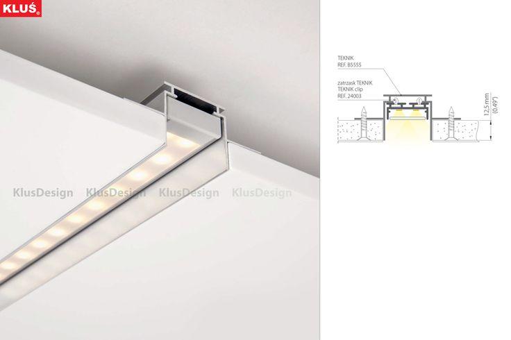 LED Extrusion For LED Tape, GIZA