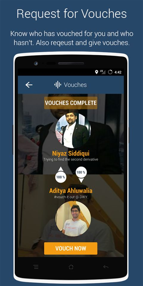8. Request for Vouches: Know who has vouched for you and who hasn't !!! Also request and give vouches !!!! :D :D :D Check out the top 10 awesome things you can do in a Reverse Social Network #top10